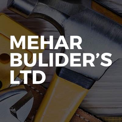 Mehar Bulider's Ltd