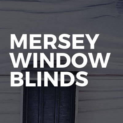 Mersey window blinds