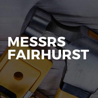 Messrs Fairhurst