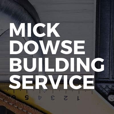 Mick Dowse Building Service