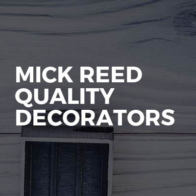 Mick Reed Quality Decorators