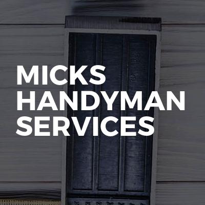 Micks Handyman Services