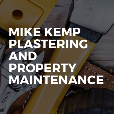 Mike Kemp Plastering And Property Maintenance
