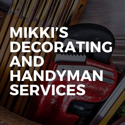 Mikki's Decorating And Handyman Services