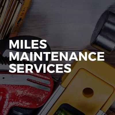 Miles Maintenance Services