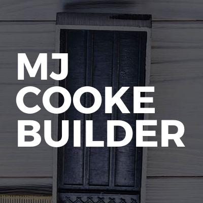 MJ Cooke Builder