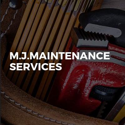 M.J.maintenance services