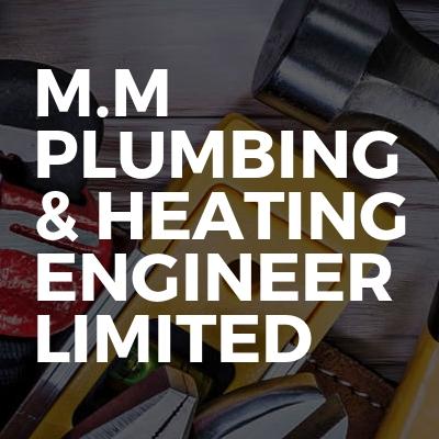 M.M PLUMBING & HEATING ENGINEER LIMITED