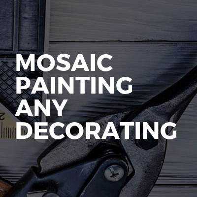 Mosaic Painting any Decorating