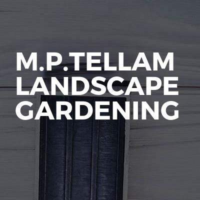 M.P.Tellam Landscape gardening