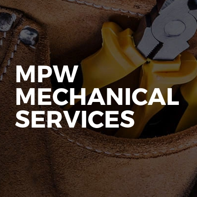 Mpw Mechanical Services