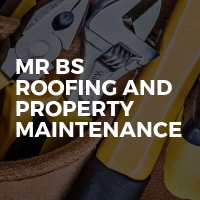 Mr Bs roofing and property maintenance
