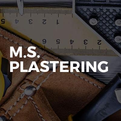 M.S. Plastering