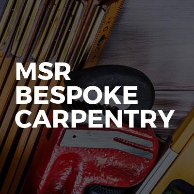 MSR Bespoke Carpentry