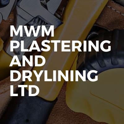 MWM Plastering And Drylining Ltd