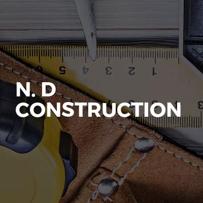 N. D construction