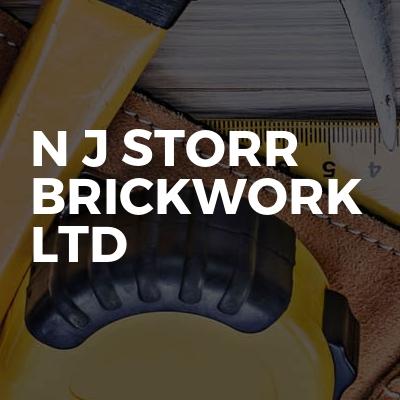 N J Storr Brickwork ltd