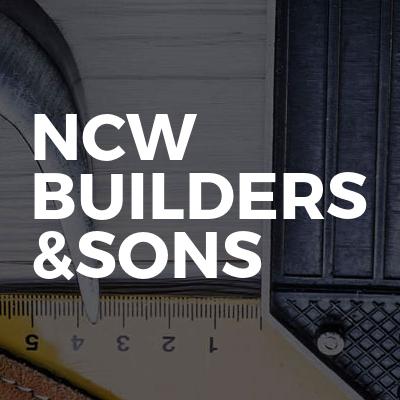 NCW builders &sons