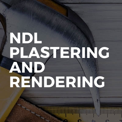 Ndl plastering and rendering