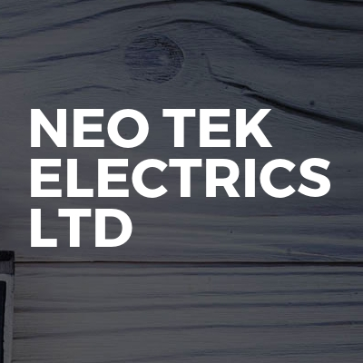 Neo Tek Electrics Ltd