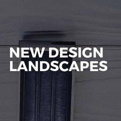 New Design Landscapes