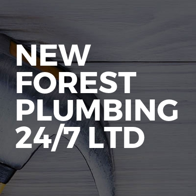 New Forest Plumbing 24/7 Ltd