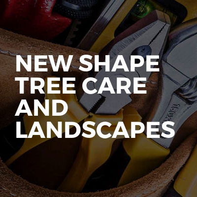 New Shape Tree Care And Landscapes