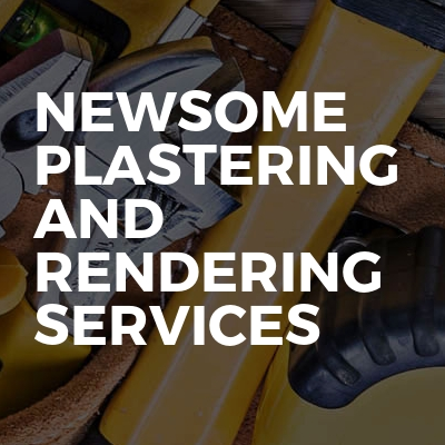 Newsome Plastering And Rendering Services