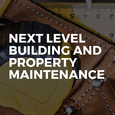 Next Level Building and Property Maintenance ltd