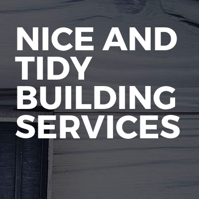 Nice And Tidy Building Services