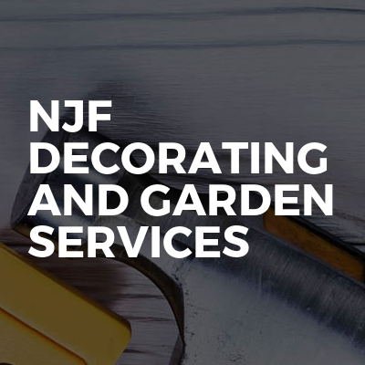 Njf decorating and garden services