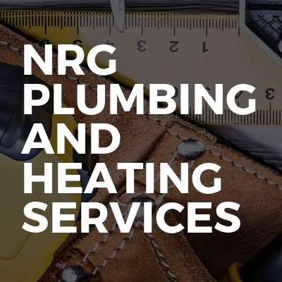 NRG plumbing and heating services