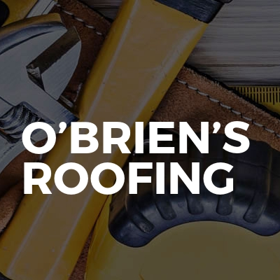 O'Brien's roofing