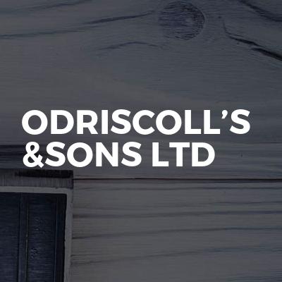 Odriscoll's &sons ltd