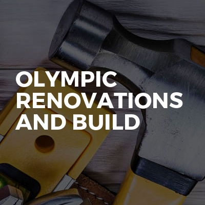 Olympic Renovations And Build