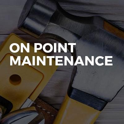 On point maintenance