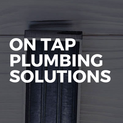 On tap plumbing solutions