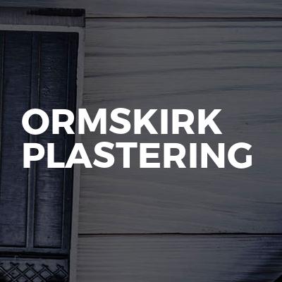 Ormskirk plastering