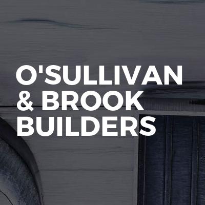 O'sullivan & Brook Builders