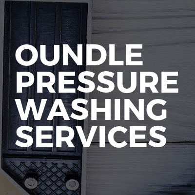 Oundle Pressure Washing Services