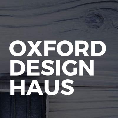 Oxford design haus