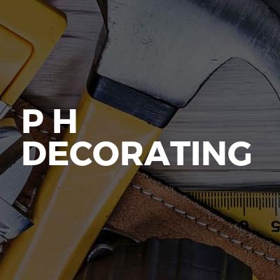 P H Decorating