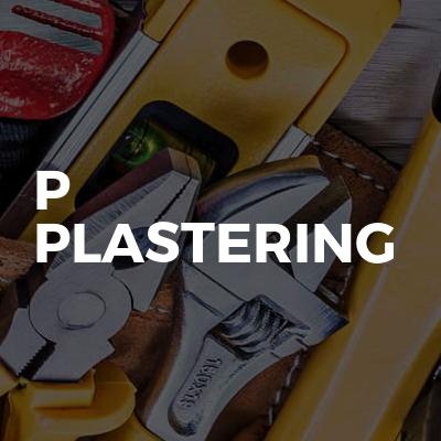 P Plastering