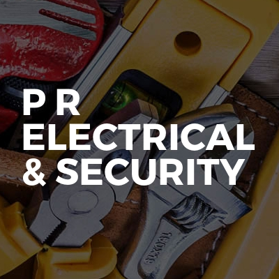 P R Electrical & Security