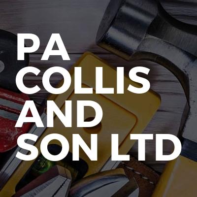 PA Collis and Son Ltd