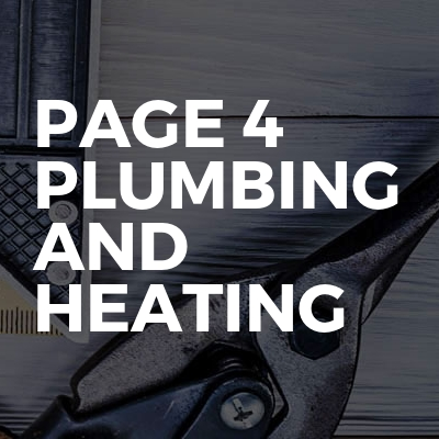 Page 4 Plumbing and Heating