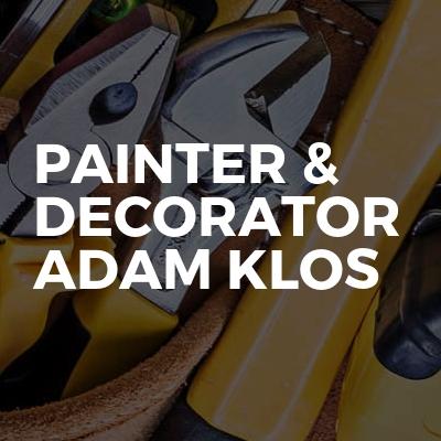 Painter & Decorator Adam Klos