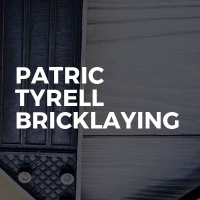 Patric Tyrell Bricklaying