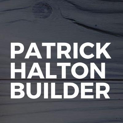 Patrick Halton Builder