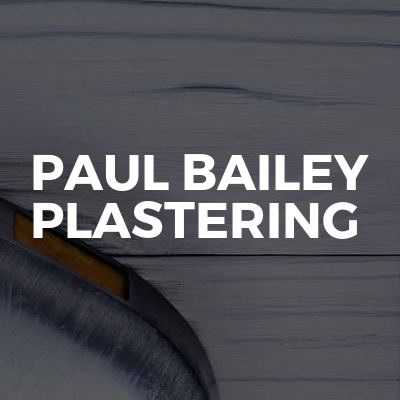 Paul Bailey Plastering